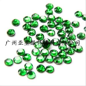 green colour swarovski crystals