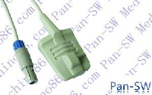 bci adult silicone soft tip spo2 sensor
