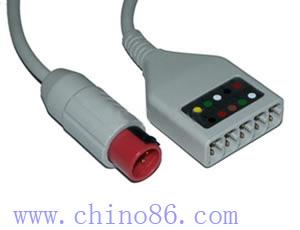 bionet cinco ecg cable troncal