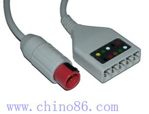 bionet five ecg trunk cable