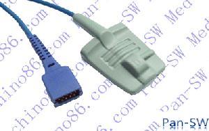 datascope adult silicone soft tip spo2 sensor