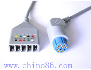 datex cinco ecg cable troncal