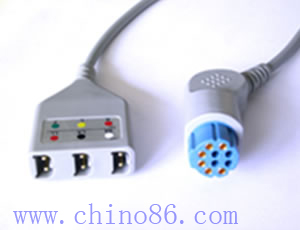 datex tres ecg cable troncal