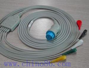 datex una moneda de cinco cable ecg con derivaciones