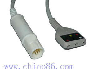 drager leads ecg cable
