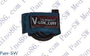 dual tube blood pressure cuff