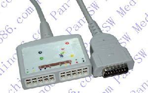 ge marquette ecg de 10 derivaciones cable troncal