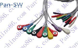 holter de cable 10 derivaciones ecg