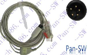 hp ecg cable five pins