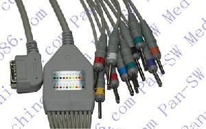 kanz ecg de 10 derivaciones con guía cable