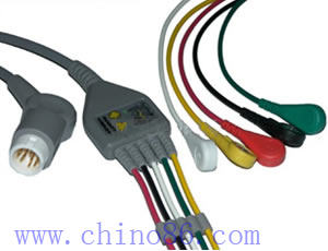 mindray five ecg cable wth leadwire