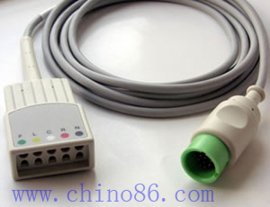 spacelabs cinco ecg cable troncal