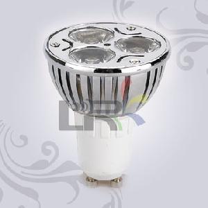 le 004gu10 na 3� led spot light