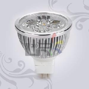 le 008mr16 4�1w led spot light