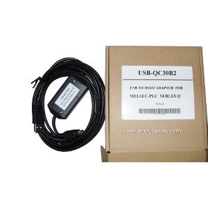 usb qc30r2 q plc rs232 interface cable mitsubishi