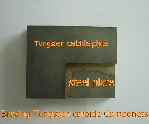 brazing tungsten carbide components