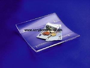 acrylic cash tray