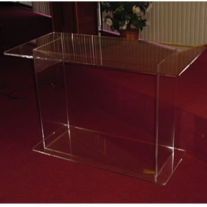acrylic communion table