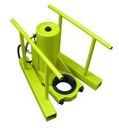hydraulic post puller pile