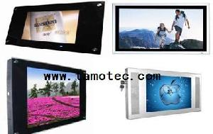 auto announcement video advertising gps lcd system