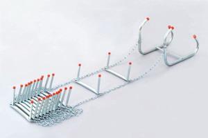 steel aluminum fiberglass fire escape ladder