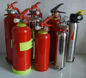 vehicle fire extinguishers