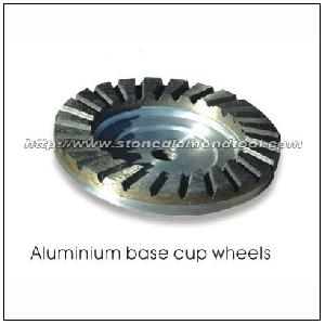 aluminium base cup wheels