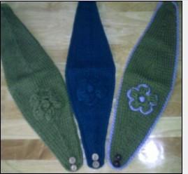 fashion knit headwrap hand