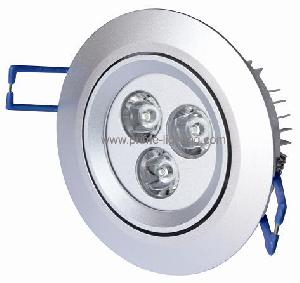 energy saving led downlights 360lm luminous flux 50 60hz frequency