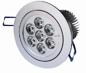 powered led downlight 85 265v ac voltages 50 60hz frequencies