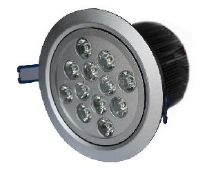 led ceiling light 960lm luminous flux 50 60hz frequency aluminum