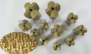 cross rock drill bit