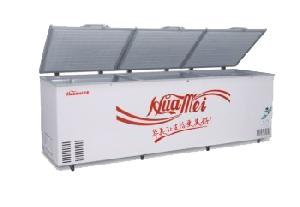 refrigerator freezer showcase stainless steel
