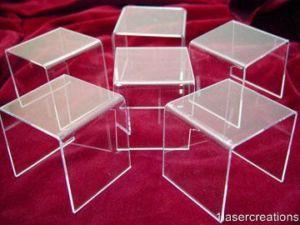5 acrylic display riser