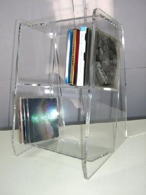acrylic cd dvd rack