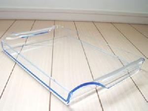 acrylic crytal tray