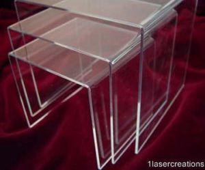 clear acrylic display riser