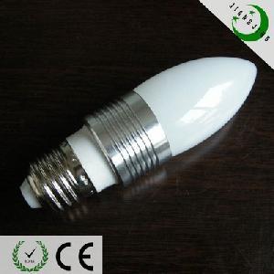 led candle bulb warm