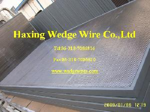 wedge wire panel screen