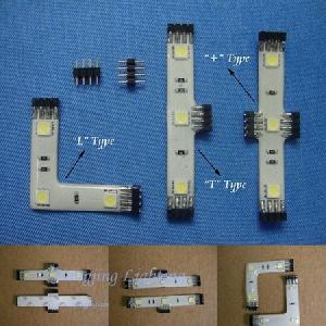 rgb led flexible strip connector