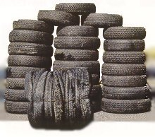tyre baling wire