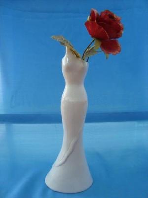 Ceramic Elegant Vase Lady Shape Vases Home Decoration Art