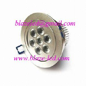 7w ce rohs recessed led downlights ceiling lights