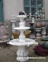 granite marble sphere fountain