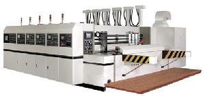 daf computerized printing slotter die cutting machine