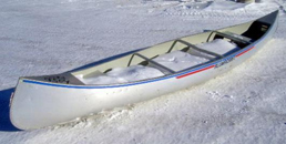 16 ft aluminum canoe stock 3283 9504