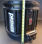 snare drum 14 premier tendura stock 3299 1500