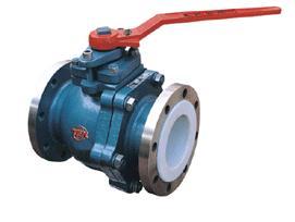 ptfe acid resistant valve