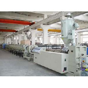 ppr pe pp pipe extrusion line
