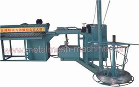 Semi-automatic Diamond Wire Mesh Chain Link Fence Machine